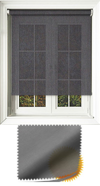 Sophie Graphite Motorised Roller Blind