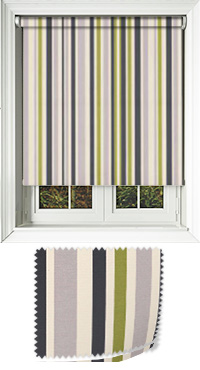 Spectrum Lime Motorised Roller Blind