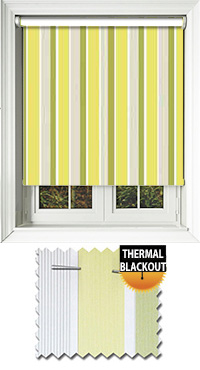 Streak Olive Skylight Blind
