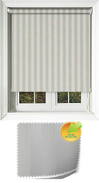 Striation Solar Calico Bifold Doors Blind