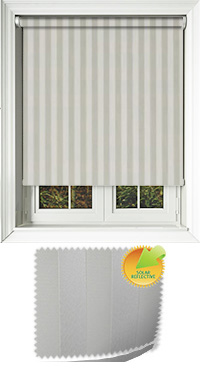 Striation Solar Calico Roller Blind