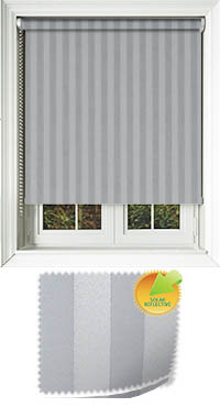 Striation Solar Iron Vertical Blind