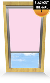 Sweet Rose Skylight Blind