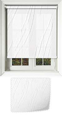 Talli Snow Vertical Blind