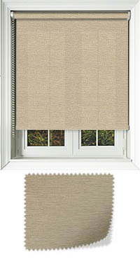 Tanta Parchment Cordless Roller Blind