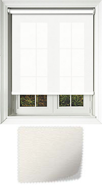 Tanta White Wooden Blind