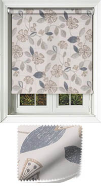 Triste Neutral Motorised Roller Blind