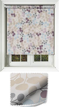 Tutti Grape Cordless Roller Blind