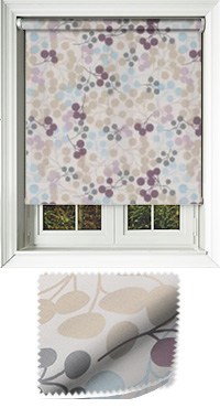 Tutti Grape Vertical Blind