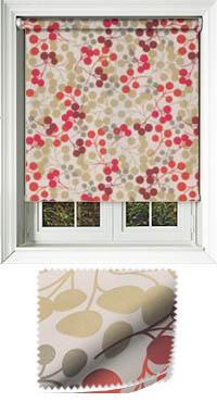 Tutti Scarlet Replacement Vertical Blind Slat
