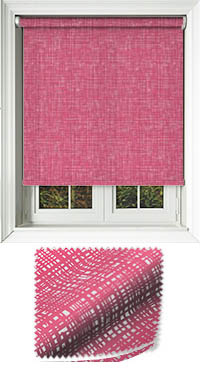 Vignette Fuschia Replacement Vertical Blind Slat