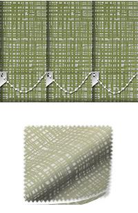 Vignette Green Venetian Blind