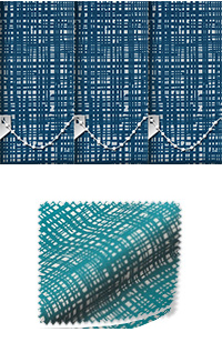 Vignette Ocean Replacement Vertical Blind Slat