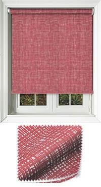 Vignette Redcurrant Replacement Vertical Blind Slat