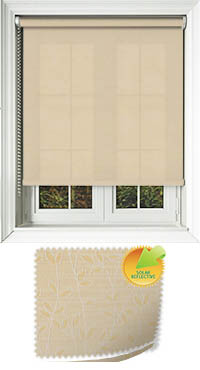 Vines Solar Buttercup Cordless Roller Blind