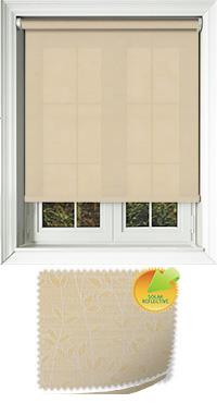 Vines Solar Buttercup Bifold Doors Blind
