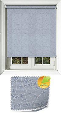 Vines Solar Lagoon Motorised Roller Blind