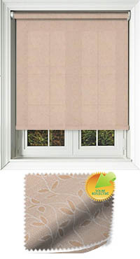 Vines Solar Nutmeg Motorised Roller Blind