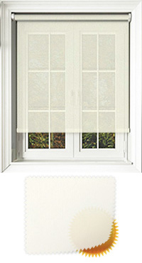 Voile Cream Cordless Roller Blind
