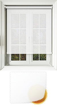 Voile White Vertical Blind