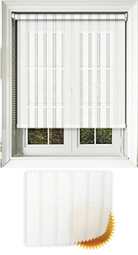 Voove White Vertical Blind