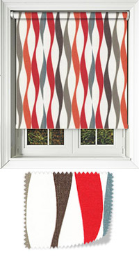 Wave Fire Replacement Vertical Blind Slat