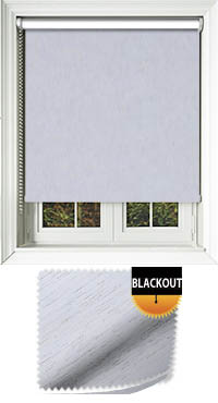 Weave Blackout Cotton Cordless Roller Blind