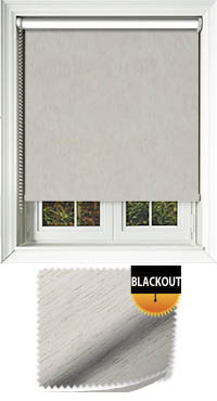 Weave Blackout Ecru Motorised Roller Blind