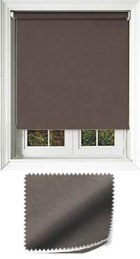 Weave Espresso Bifold Doors Blind
