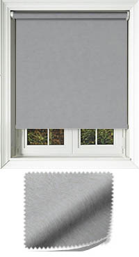 Weave Iron Roller Blind