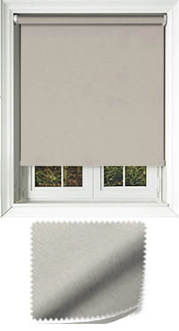 Weave Silver Cordless Roller Blind