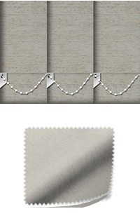Weave Silver Wooden Blind