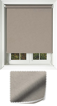 Weave Taupe Cordless Roller Blind