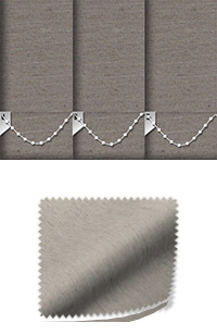 Weave Taupe Vertical Blind