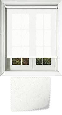 Whisper Frost Vertical Blind