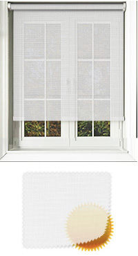 White Sun Screen Vertical Blind