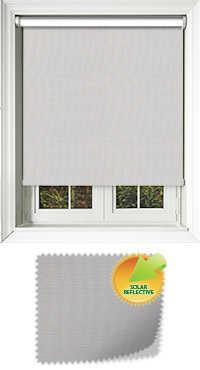 Yukon Birch Motorised Roller Blind