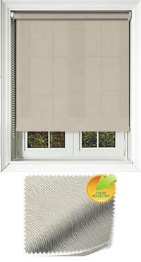 Zia Solar Bamboo Bifold Doors Blind