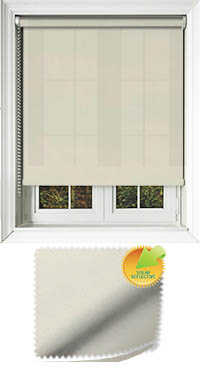 Zia Solar Ice Cordless Roller Blind