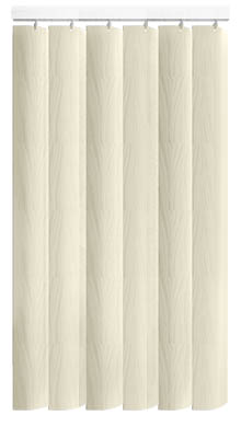 Zoe Cream Replacement Vertical Blind Slat